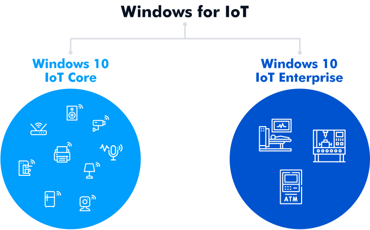 Basic editions of the Windows 10 IoT family